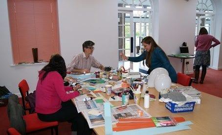 Art session at SWRC